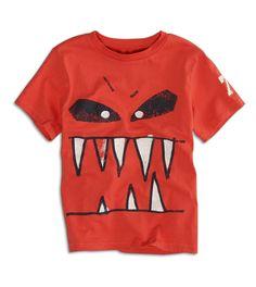 77 Kids mad monster t shirt #boys #monster