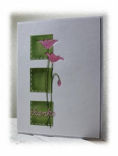 CAS265, Green blocking by Holstein - Cards and Paper Crafts at Splitcoaststampers