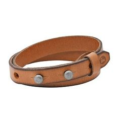 Twice as nice, our double leather wrist wrap clasps with a signature pin closure. Bracelets For Men, Leather Bracelets, Leather Accessories, Leather Working, Leather Men, Fossil, Mens Fashion, Bags, Jewelry