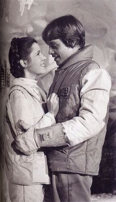 Leia and Luke, so sweet.