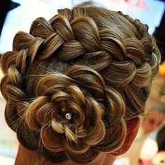 Amazing #prom #hair! (at Christina by design)