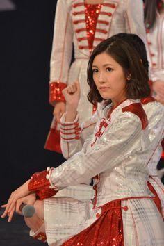 「第67回NHK紅白歌合戦」リハーサル時の渡辺麻友(AKB48)。