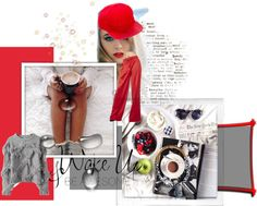 Wake Up and Be Awesome Wake Up, Polyvore Fashion, Fashion Boards, Disney Characters, Awesome, Polaroid, Design, Women, Art
