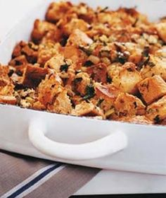 No matter what you call it—stuffing or dressing—most everyone can agree that it simply wouldn't be Thanksgiving without the starchy side. With dozens of different ways to prepare it, finding the perfect recipe for your table can be quite the challenge. Here, we've compiled a decidedly delicious recipe to suit every taste.