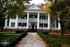 """1800s Lockwood Mansion"" - Mystic Falls, Virginia  Actual Location: Covington, Georgia Actual House Name: Whitehall Episode: 'Memory Lane' - Season 1"