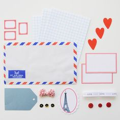 Adorable stationery kit