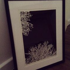 Framed papercut with negative space Negative Space, Paper Cutting, Create, Artwork, Home Decor, Work Of Art, Decoration Home, Auguste Rodin Artwork, Room Decor