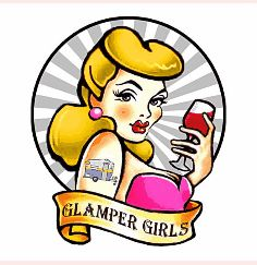 Glamper Girls copyrighted image. Count me in...minus the tattoo! ;)