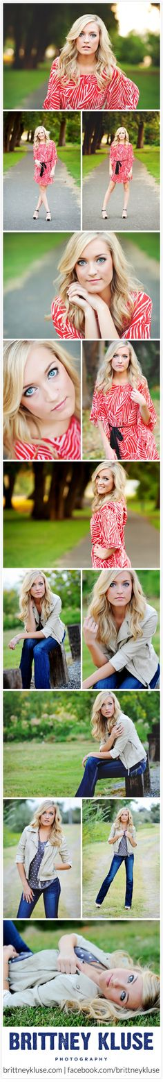 Brittney Kluse Photography- senior picture poses