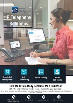 IBT supplies latest telephone systems viz, Panasonic, Cisco, Avaya, NEC and further Asterisk based IP PBX as well. Hosted Voip, Innovation Strategy, Enterprise Business, Unified Communications, Network Solutions, Network Cable, Mobile Technology, Business Technology, Telephone