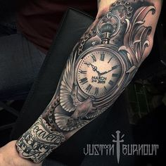 Wow  artist: @justinburnouttattoos . Tag your friends and check out @inkcommunity
