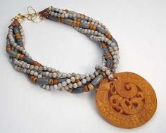 DRAGON  Handcarved Jade  Feldspar and by sandrawebsterjewelry, $225.00