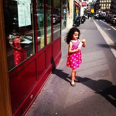 Lovely young girl. Paris.