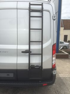 Rhino Rear Door Ladder for Ford Transit