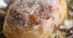 Rôti de veau au four | Recettes de saison : Septembre Seasonal recipes : September | Pinterest | Branches, Suits and Pendants