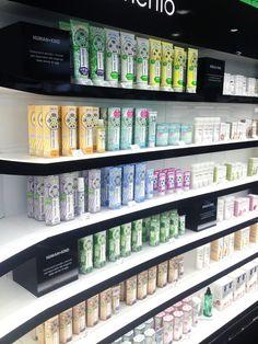 Human+Kind on the shelf at Sephora Milan Giveaways, Sephora, Website, Milan, Shelf, Skincare, Store, Natural, Travel