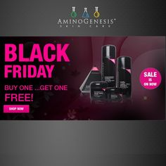 AminoGenesis Balck Friday Sale 2015 by Pinku