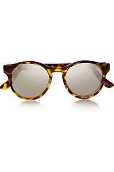 Le+Specs Gafas de sol con montura carey, de Le Specs (45 €).