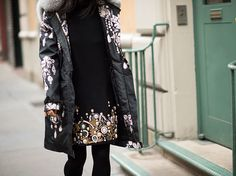 Illusion of glamour  nyfw street style fall 2013 runway
