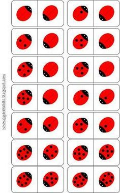 Gyereketető: Katicás dominó