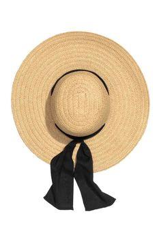 Chapeau de soleil en paille   H&M