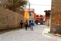 Santa Maria street view, Sal, Cape Verde