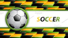 Soccer design by gigello Vector Illustrations, Graphic Illustration, Soccer Ball, Templates, Abstract, Cover, Creative, Sports, Design
