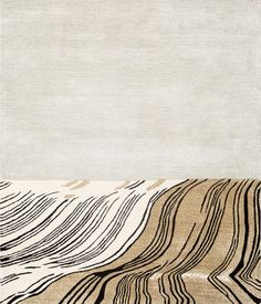 """A new carpet series designed by Mattias Stenberg where we see a new kind of product A carpet made as well for the wall, as for the floor. """"A textile piece of art or creator of ambiance for a contrac…"""