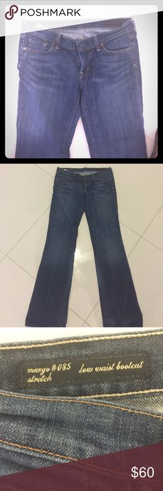 Citizens of Humanity Jeans Like new! I have been saving them to see if I fit in them again! Not happening! Citizens of Humanity Jeans Boot Cut