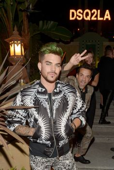 Adam Lambert Photos: Dsquared2 Celebrates First Boutique In The USA With Pommery Champagne 2014