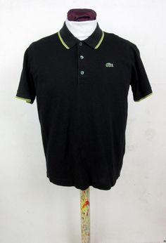 Lacoste Sport Short Sleeved Polo Shirt Vintage Mod Ska Size Large Lacoste Size 5