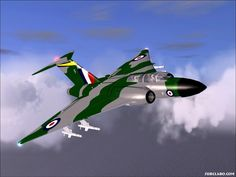 RAF Gloster Javelin