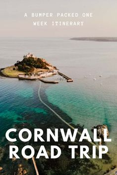 It's little wonder Cornwall is considered one of the most scenic stretches of coastline in England! With dramatic cliffs, hidden coves, lost gardens and the best ice cream ever, Cornwall is just begging to be explored. Here's our itinerary for the best road trip in Cornwall #Cornwall #RoadTrip #Travel #England Get the full route here: //mowgli-adventures.com/ultimate-road-trip-in-cornwall/ Places To Visit Uk, Places To Travel, Travel Destinations, Cornwall England, Yorkshire England, Yorkshire Dales, Things To Do In Cornwall, Provence, Holidays In Cornwall