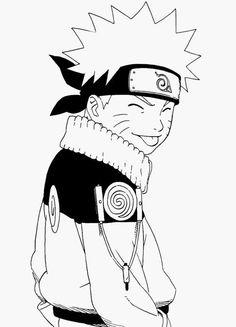 Naruto Uzumaki and I'm going to be the next Hokage, Believe it! Naruto Uzumaki, Anime Naruto, Anime Chibi, Manga Anime, Naruto Cute, Kakashi Sensei, Boruto, Fan Art Naruto, Naruto Drawings