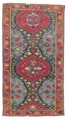 LOT 96. A 'VARIANT' MEDALLION USHAK CARPET WEST ANATOLIA, LATE 16TH CENTURY. Christies 'Fine Oriental Rugs & Carpets' 8 April 2014 in London