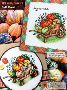Fall Haul, the newest digital download from Power Poppy