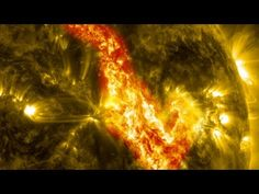 A filament of plasma 25 times bigger than the Earth exploded from the sun recently, leaving behind this temporary burning gash in the solar ...