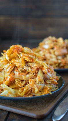 Succulent cabbage sauteed with tender chicken and vegetables. Just a few ingredients and about 15 minutes of active time make this delicious dinner.