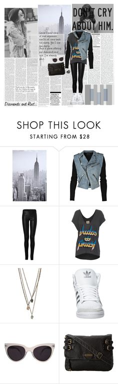"""""""I'll be damned, here comes your ghost again...♥"""" by gagarose ❤ liked on Polyvore featuring Nicki Minaj, WALL, Alexander Wang, Ventcouvert, Chaser, adidas Originals, KamaliKulture, Roxy, Jigsaw and Victoria Beckham"""