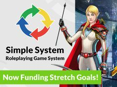 Simple System Table-Top Roleplaying Game System by Dashing Inventor Games — Kickstarter