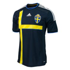 ca3e9f507 adidas Sweden 2014 World Cup Away Jersey on http   jersey2014.kerdeal.