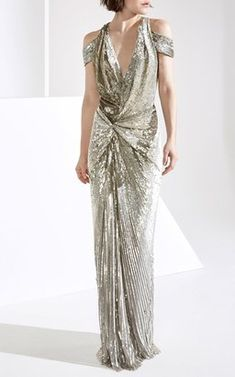 Alula Sequin Gown by Jenny Packham Fall Winter 2018
