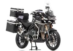 TRIUMPH Tiger 1200 Explorer 2014 Touring Motorcycle TOURATECH
