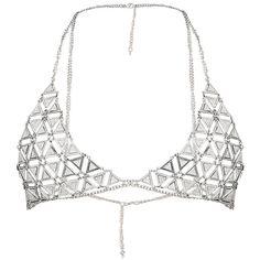 Crystal Bralette, Bralette Chain, Bra Chain, Bralette Bras, Piercing, Fancy, Bra Lingerie, Silver Glitter, Swag Outfits