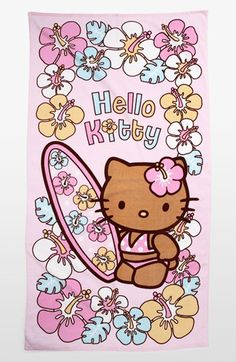 Hello Kitty® Beach Towel (Girls) available at #Nordstrom