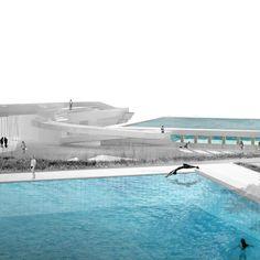MEDELLIN / Aquatic centre ▲ ✪ - LCLA office