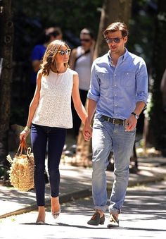 Effortless Summer Style- Olivia Palermo