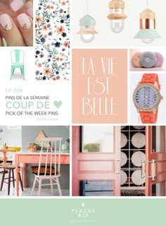Pins de la semaine | Pins of the Week N.009 – Places  Co - #Moodboard