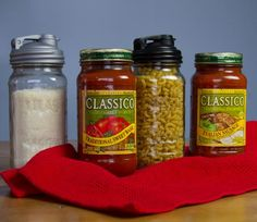 After an authentic taste of Italy with Classico®, store pasta and grated cheese for your next dinner using reCAP!