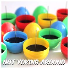 Get your Easter inspired Poke A Bowl® Eggsplorer™ - Available in 4 colors only until 4/20/14 - Hop on over to PokeABowl.com and Clean Your Ash Hole®